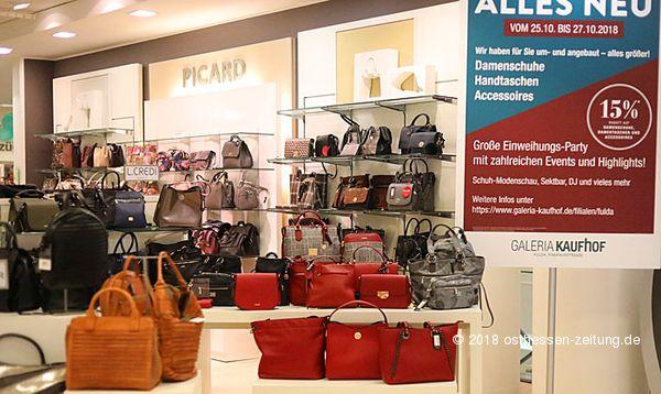 caa292a2fb64e Galeria Kaufhof feiert Einweihungsparty nach Umbau – Neue Marken