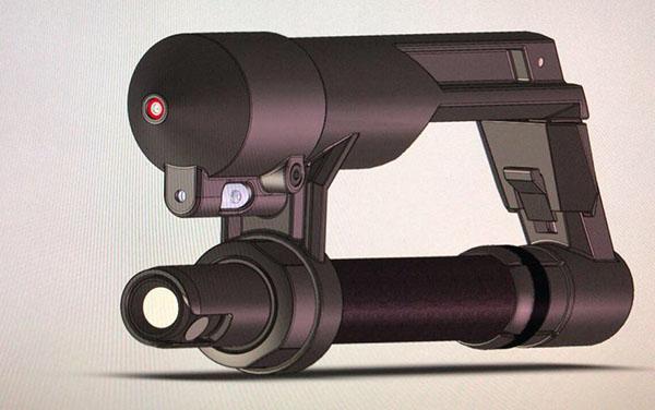 Ultra taschenlampe tonfa abwehrstock teleskopschlagstock