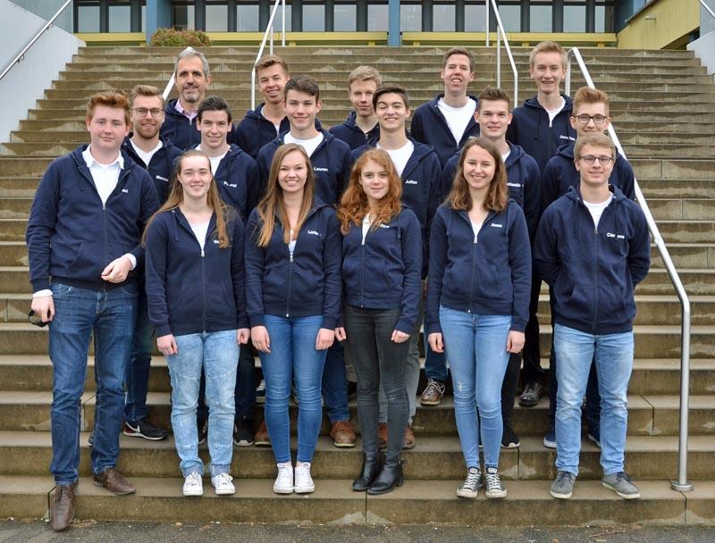 Wigbertschule Hünfeld Die Abiturienten In Der übersicht