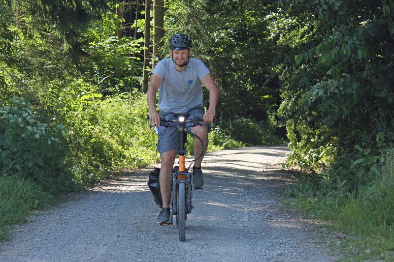 Die Bikenight Fast Ganz Frankfurt Eine Fahrradstrasse Verkehrswende Fulda