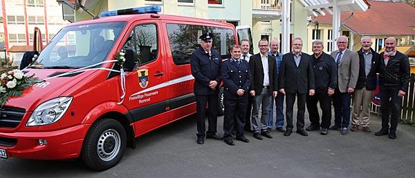 Feuerwehr Romrod Nimmt Neues Fahrzeug In Betrieb Viele Spenden