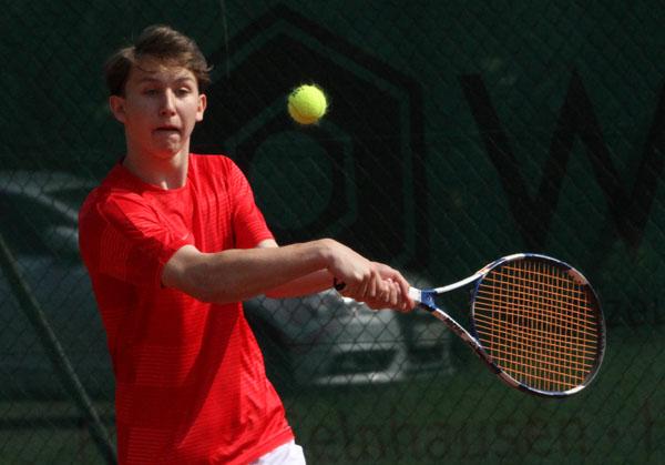 einstand beim tennis