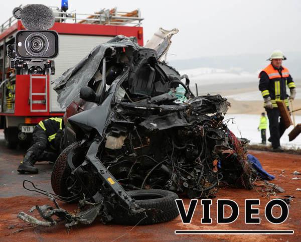 Tödlicher Unfall bei Landenhausen – VIDEO