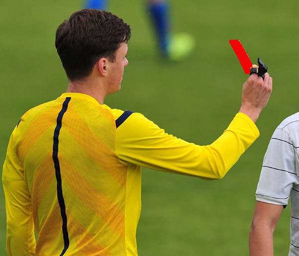 Hfv Vorstand Beschliesst Sperre Nach Gelb Roter Karte In