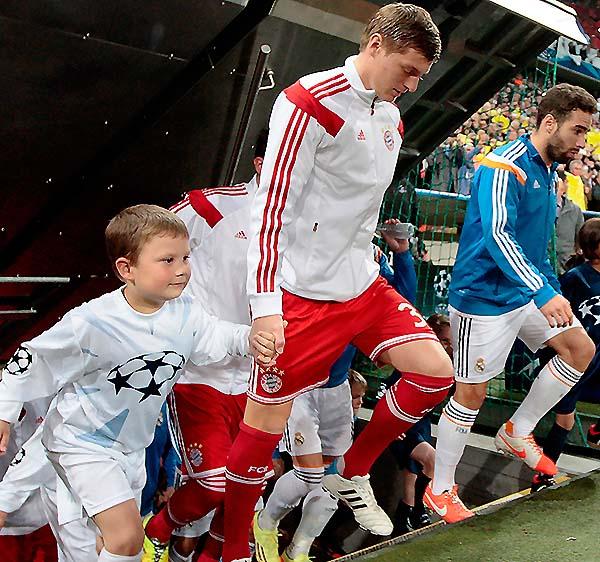 Felix And Toni Kroos
